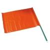 Bandiera segnaletica rosso fluorescente