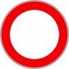 Cartello divieto di transito