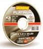 Disco  platinum taglio acciao inox e ferro