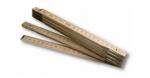 Doppiometro in legno di acero