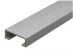 Listello testa piatta alluminio