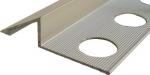 Profilo terminale a rampa in alluminio