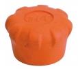 Tappo copritesta per tubo in gomma morbida