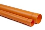 Tubo Edilizia Rosso PVC