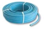 Tubo per gas gpl colore azzurro marchiato IMQ